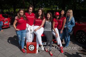 Ashley Graham, Leah Wood, Chloe Green, Zara Martin and Jo Wood