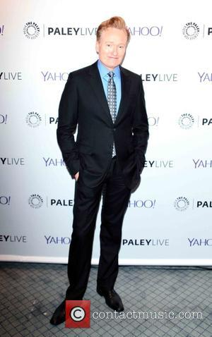 Conan O'Brien - 'Fire and Ice: A Conversation with Conan O'Brien and Anderson Cooper' at The Paley Center for Media...