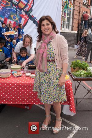 Kirstie Allsopp - Food Revolution Day - photocall held at Rhyl Primary School. - London, United Kingdom - Friday 15th...