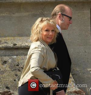 Jennifer Saunders - The wedding of Geri Halliwell and Christian Horner at St Mary's Church in Woburn - Woburn, United...
