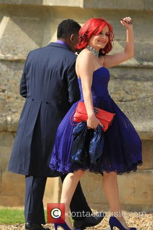 Carrie Grant - The wedding of Geri Halliwell and Christian Horner at St Mary's Church in Woburn - Woburn, United...