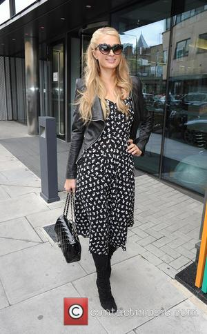 Paris Hilton - Paris Hilton leaving the MTV studios in Camden - London, United Kingdom - Friday 15th May 2015