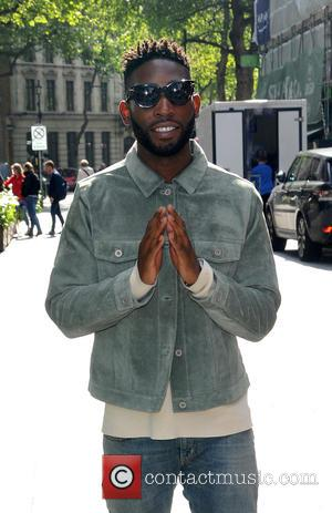 Tinie Tempah - Tinie Tempah sighting at Global House - London, United Kingdom - Friday 15th May 2015
