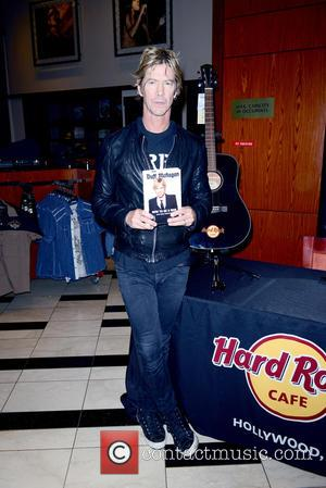Duff McKagan - Guns N' Roses basssist Duff McKagan signs copies of his new book 'How to Be a Man...