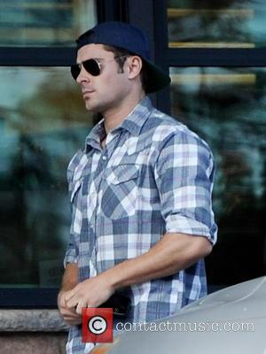 Hollywood hunk and actor Zac Efron was photographed at Gelson's supermarket in Los Angeles, California, United States - Friday 15th...