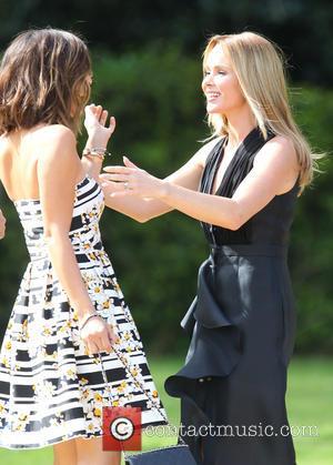 Amanda Holden and Myleene Klass