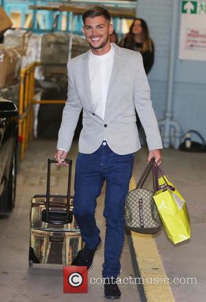 Kieron Richardson - Kieron Richardson outside the ITV Studios - London, United Kingdom - Friday 15th May 2015
