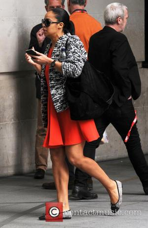 Sarah-Jane Crawford - Sarah-Jane Crawford seen out in London - London, United Kingdom - Friday 15th May 2015