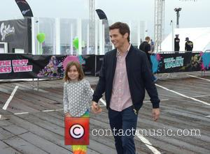 James Marsden and Mary Marsden - Nintendo's 'Splatoon Mess Fest' at the Santa Monica Pier celebrates the launch of the...