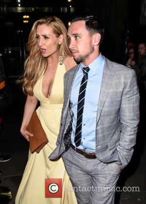 Catherine Tyldesley and Tom Pitfield - British Soap Awards After Party held at the Palace Hotel Manchester - Departures at...