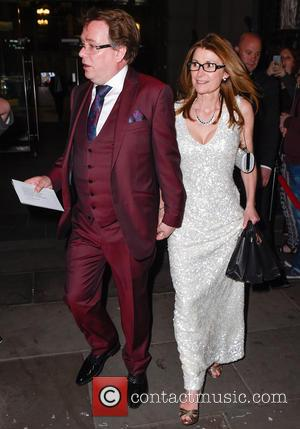 Adam Woodyatt - British Soap Awards After Party held at the Palace Hotel Manchester - Departures at Palace Hotel Manchester...