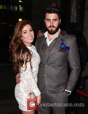 Nikki Sanderson and Greg Whitehurst - British Soap Awards After Party held at the Palace Hotel Manchester - Departures at...