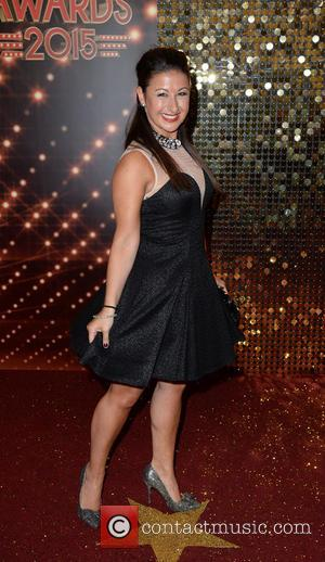 Hayley Tamaddon - A host of stars from a variety of British soap operas were photographed as they arrived for...