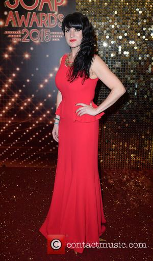 Laura Norton - A host of stars from a variety of British soap operas were photographed as they arrived for...