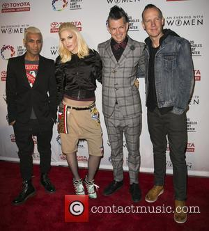 Tony Kanal, Gwen Stefani, Tom Dumont, Adrian Young and Of No Doubt