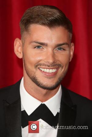 Kieron Richardson - A host of stars from a variety of British soap operas were photographed as they arrived for...