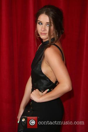 Brooke Vincent - A host of stars from a variety of British soap operas were photographed as they arrived for...