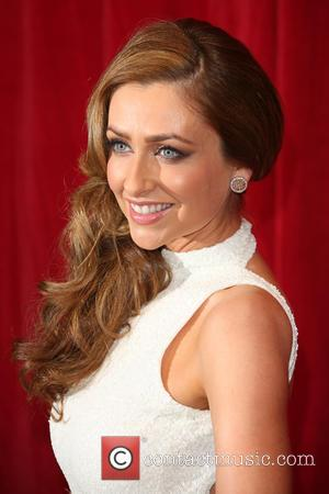 Gemma Merna - A host of stars from a variety of British soap operas were photographed as they arrived for...