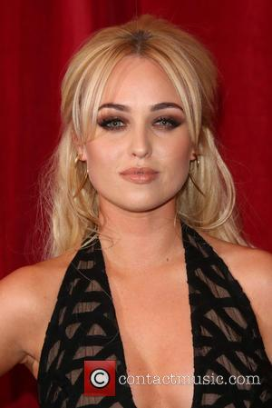 Jorgie Porter - A host of stars from a variety of British soap operas were photographed as they arrived for...