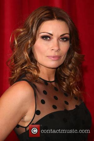 Alison King - A host of stars from a variety of British soap operas were photographed as they arrived for...