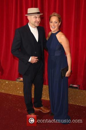 Sally Dynevor and Joe Duttine