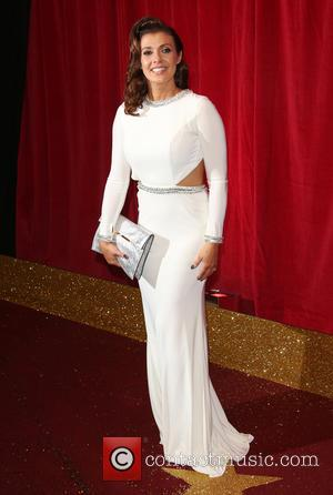 Kym Marsh - A host of stars from a variety of British soap operas were photographed as they arrived for...
