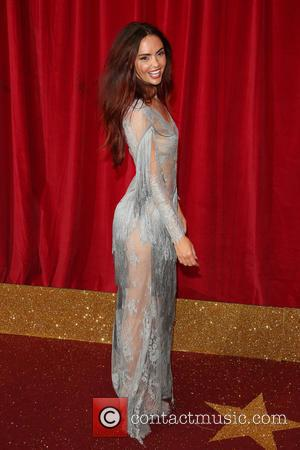 Jennifer Metcalfe - A host of stars from a variety of British soap operas were photographed as they arrived for...