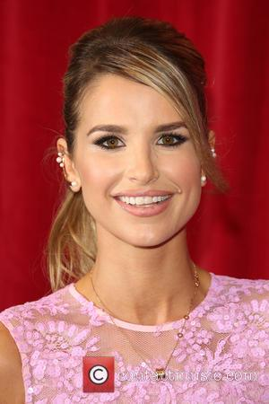 Vogue Williams - A host of stars from a variety of British soap operas were photographed as they arrived for...