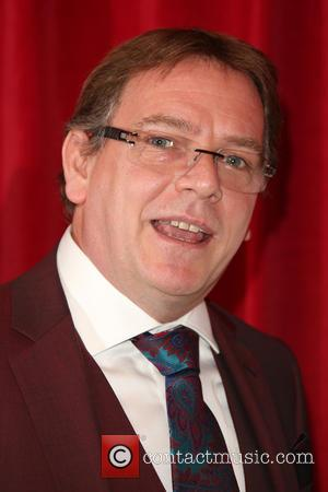 Adam Woodyatt - A host of stars from a variety of British soap operas were photographed as they arrived for...