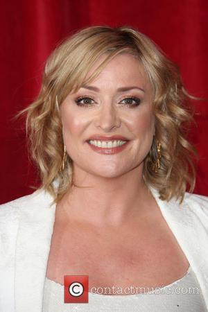 Laurie Brett - A host of stars from a variety of British soap operas were photographed as they arrived for...