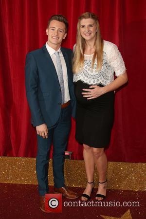 Rebecca Adlington and Harry Needs