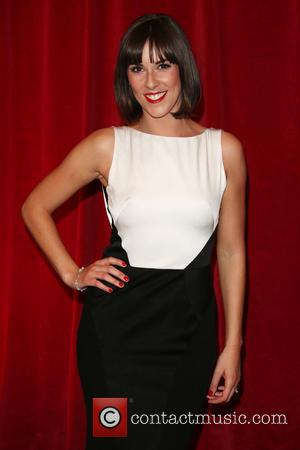 Verity Rushworth - A host of stars from a variety of British soap operas were photographed as they arrived for...