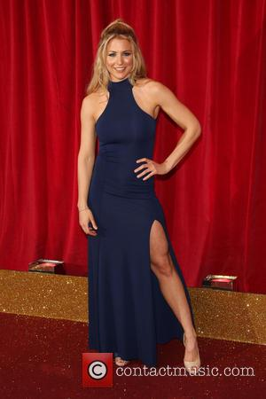 Gemma Atkinson - A host of stars from a variety of British soap operas were photographed as they arrived for...