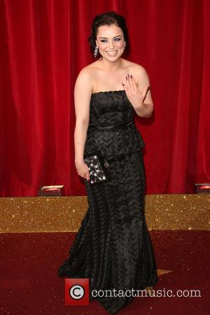 Shona McGarty - A host of stars from a variety of British soap operas were photographed as they arrived for...