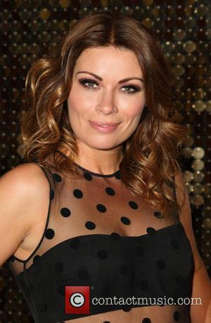 Alison King - The British Soap Awards 2015 at the Palace Hotel - Red Carpet Arrivals at Palace Hotel, Oxford...