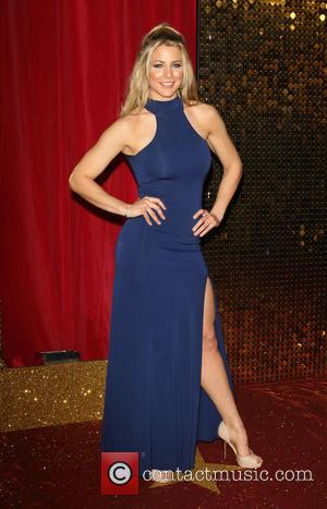 Gemma Atkinson - The British Soap Awards 2015 at the Palace Hotel - Red Carpet Arrivals at Palace Hotel, Oxford...