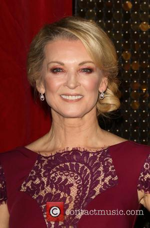 Gillian Taylforth - The British Soap Awards 2015 at the Palace Hotel - Red Carpet Arrivals at Palace Hotel, Oxford...