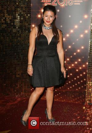 Hayley Tamaddon - The British Soap Awards 2015 at the Palace Hotel - Red Carpet Arrivals at Palace Hotel, Oxford...