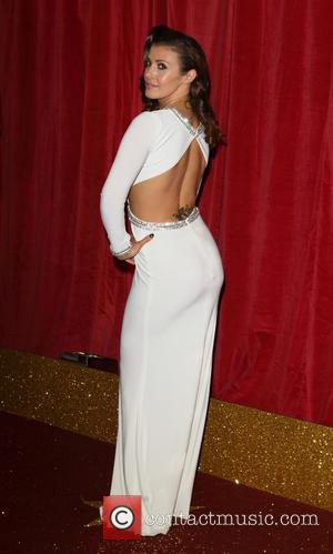 Kym Marsh - The British Soap Awards 2015 at the Palace Hotel - Red Carpet Arrivals at Palace Hotel, Oxford...