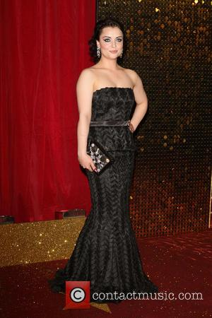Shona McGarty - The British Soap Awards 2015 at the Palace Hotel - Red Carpet Arrivals at Palace Hotel, Oxford...