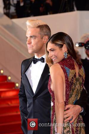 Robbie Williams and Ayda Field - A variety of celebrities were photographed as they took to the red carpet at...
