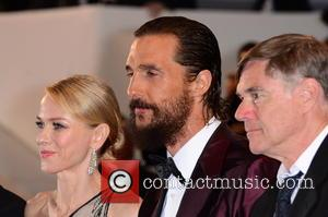 Naomi Watts, Matthew McConaughey and Gus Van Sant
