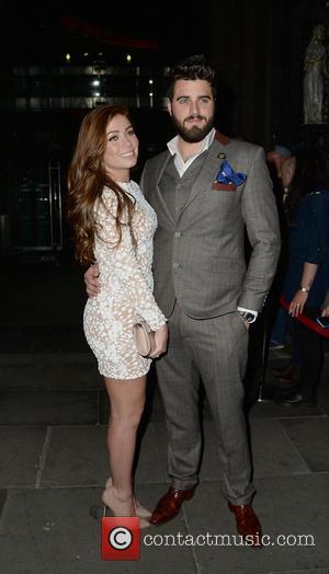 Nikki Sanderson and Greg whitehurst - Nikki Sanderson and her boyfriend Greg Whitehurst at the British Soap Awards 2015 -...