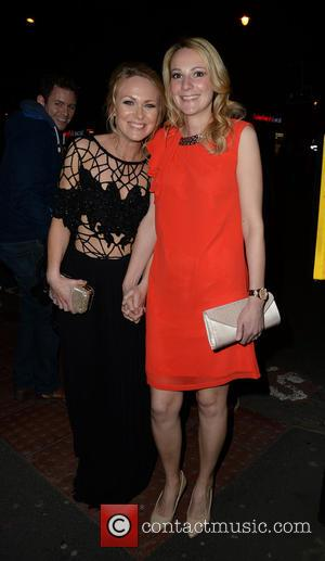 Michelle Hardwick and Rosie Nicholl - The British Soap Awards 2015 at the Palace theatre - Departures - Manchester, United...