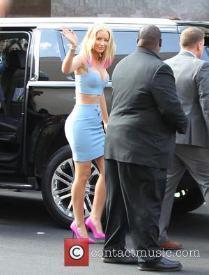 Iggy Azalea - 2015 Billboard Music Awards at MGM Grand Garden Arena - Outside Arrivals at Billboard Music Awards -...