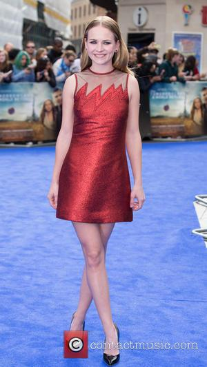 Britt Robertson - A host of stars were snapped as they arrived for the European premiere of 'Tomorrowland: A World...