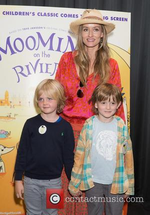 Natascha McElhone - 'The Moomins On The Riviera' premiere at the BFI Southbank Theatre - Arrivals at BFI Theatre -...