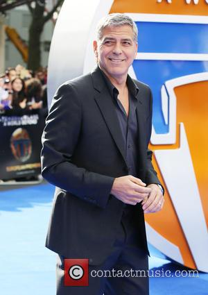 George Clooney, Odeon Leicester Square, Tomorrowland