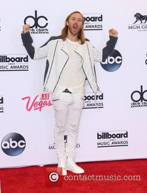 David Guetta - Shots of the winners from the 2015 Billboard Music Awards in the press room after the ceremony...