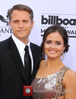 Danica McKellar and Scott Sveslosky